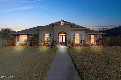 Scott Single Family Home For Sale: 206 Perry Oak Drive