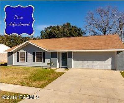 Lafayette  Single Family Home For Sale: 302 Aristotle Drive