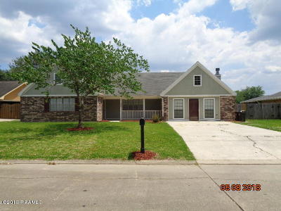 New Iberia Single Family Home For Sale: 1604 Southwood Drive