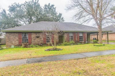 Lafayette  Single Family Home For Sale: 103 Beau Sejour Street