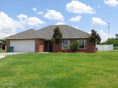 New Iberia Single Family Home For Sale: 4319 Faith Drive
