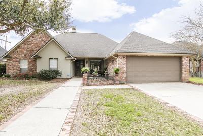 Lafayette  Single Family Home For Sale: 412 E Peck Boulevard