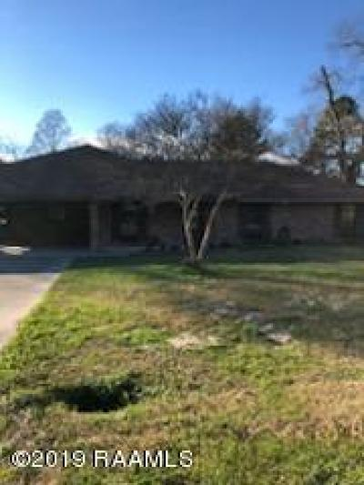 Lafayette  Single Family Home For Sale: 104 Oak Coulee Drive