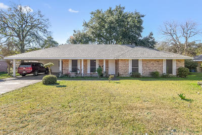 Lafayette Single Family Home For Sale: 309 Meadow Lane
