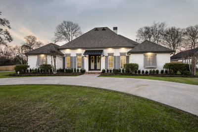 Lafayette Single Family Home For Sale: 503 Bellevue Plantation Road