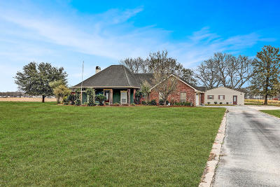 New Iberia Single Family Home For Sale: 5217 Norris Road