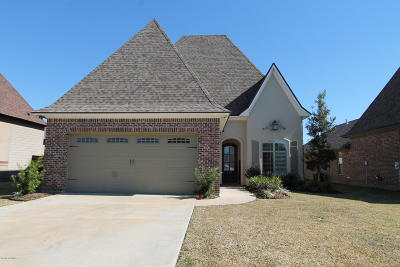 broussard Single Family Home For Sale: 112 Cane Creek Drive