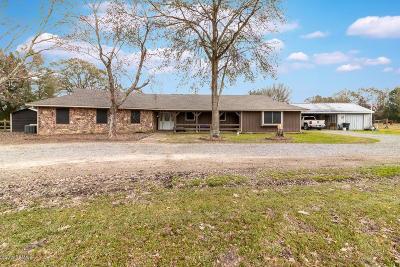 St Martinville, Breaux Bridge, Opelousas Single Family Home For Sale: 309 Sugar Mill Road Road