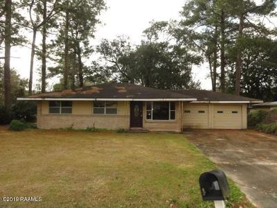Lafayette  Single Family Home For Sale: 604 Alice Drive