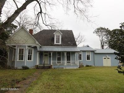 St Martinville, Breaux Bridge, Opelousas Single Family Home For Sale: 701 E Grolee Street