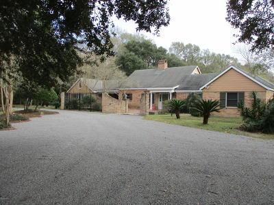 St Martinville, Breaux Bridge, Abbeville Single Family Home For Sale: 14121 Towne Lane