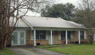 Iberia Parish Single Family Home For Sale: 720 Prioux Street