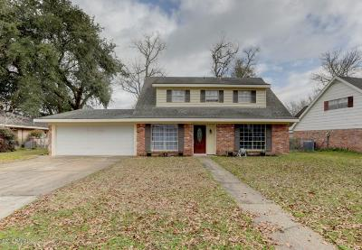 Lafayette  Single Family Home For Sale: 317 Corona Drive