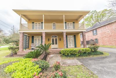 Lafayette  Single Family Home For Sale: 142 W Bayou Parkway