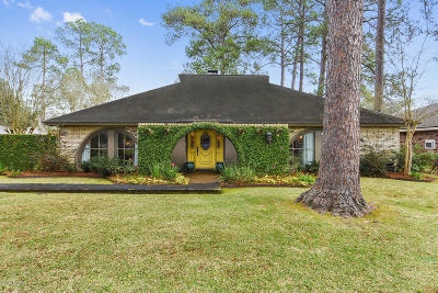 Single Family Home For Sale: 309 Chastant Boulevard