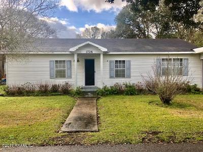 Abbeville Single Family Home For Sale: 1726 Michael Street