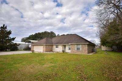 St Martinville, Breaux Bridge, Opelousas Single Family Home For Sale: 733 St Berchman Drive