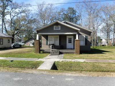 Rayne Single Family Home For Sale: 209 N Parkerson Street