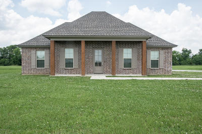 St Martinville, Breaux Bridge, Opelousas Single Family Home For Sale: 140 Critter Creek