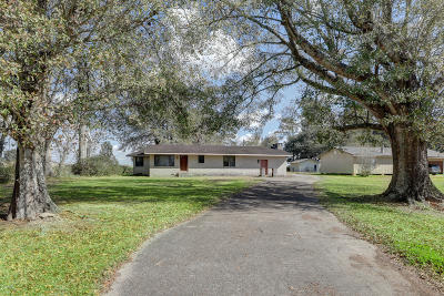 New Iberia Single Family Home For Sale: 7516 Loreauville Road