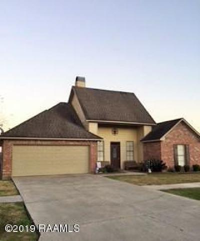 Carencro  Single Family Home For Sale: 300 Magnolia Knee Drive