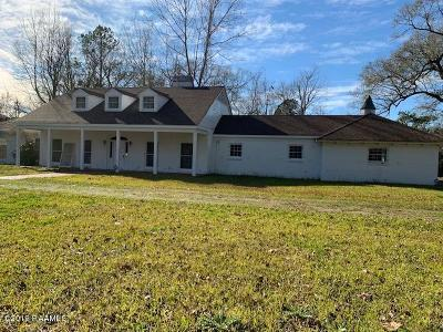 Opelousas Single Family Home For Sale: 1712 Edwards Street