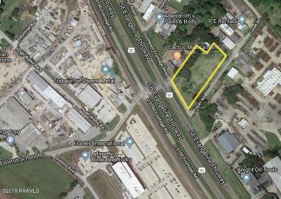 Lafayette Residential Lots & Land For Sale: 2637 SE Evangeline Thruway