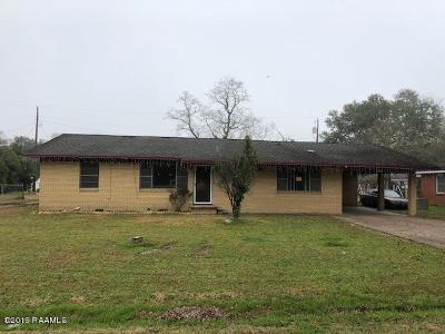 Ville Platte Single Family Home For Sale: 519 E Long Street