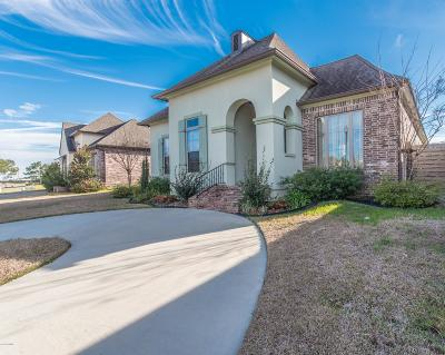Broussard Single Family Home For Sale: 1106 Le Triomphe Parkway