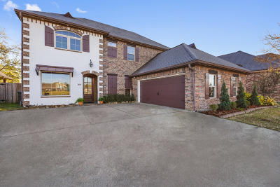 Youngsville Single Family Home Active/Contingent: 104 La Villa Circle