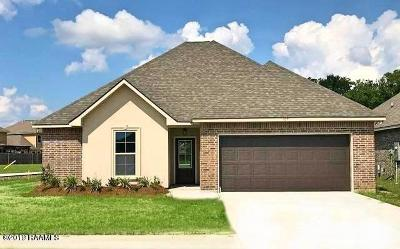 Youngsville Rental For Rent: 107 Valcour Place