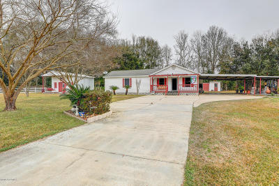 New Iberia Single Family Home For Sale: 7712 Soileau Road
