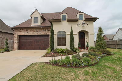 Broussard Single Family Home For Sale: 211 Cane Creek Drive