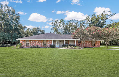 Breaux Bridge Single Family Home For Sale: 1056 Bonnie Lane