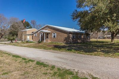 New Iberia Single Family Home For Sale: 5112 Alleman Road