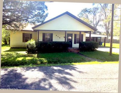 Breaux Bridge Single Family Home For Sale: 414 Alexander Street