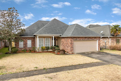 Lafayette Single Family Home For Sale: 704 Kaiser Drive
