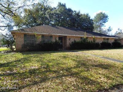 New Iberia Single Family Home For Sale: 106 Celeste Drive