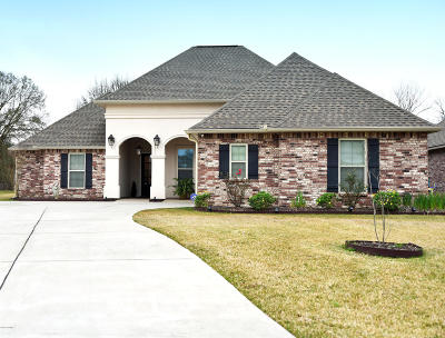 Broussard Single Family Home For Sale: 317 Victoria Lights Lane