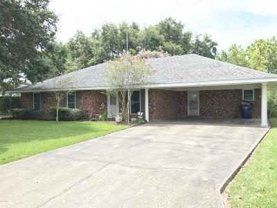 Opelousas Single Family Home For Sale: 125 Willis Drive