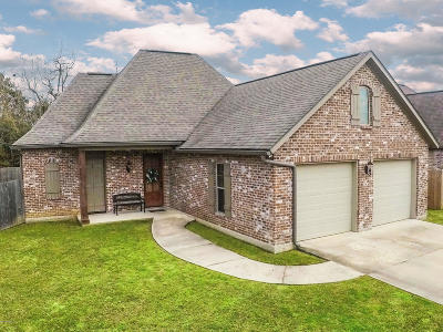 Broussard Single Family Home For Sale: 207 Bentwater Drive