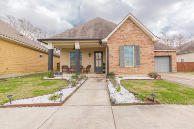 Lafayette Single Family Home For Sale: 205 Pascalet Place