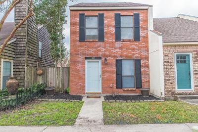 Lafayette Single Family Home For Sale: 206 Long Plantation Boulevard #D