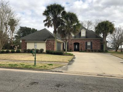 broussard Single Family Home For Sale: 302 Spyglass Lane
