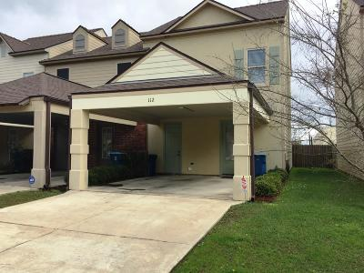 Lafayette Rental For Rent: 112 Crystal Bay Court