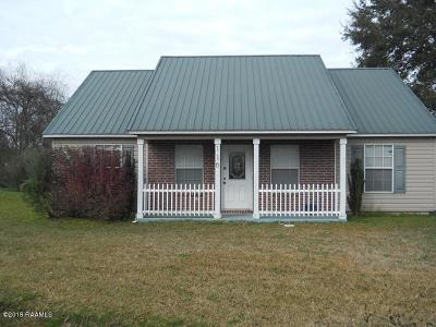 Carencro  Single Family Home For Sale: 116 Clo Drive