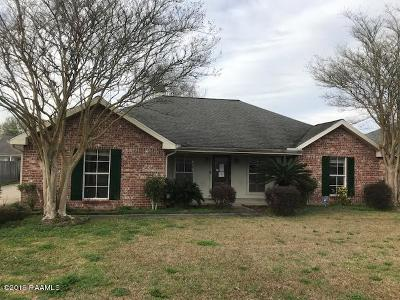 broussard Single Family Home For Sale: 111 Windrow Drive