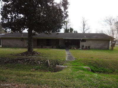 Iberia Parish Single Family Home For Sale: 2713 Curtis Lane
