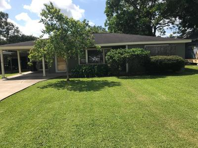 Jeanerette Single Family Home For Sale: 106 Virginia Street