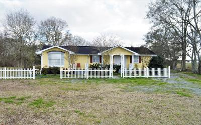 New Iberia Single Family Home For Sale: 2517 Avery Island Road